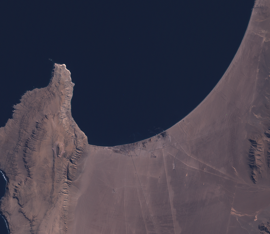 Landsat 8 Visible Spectrum TOA Reflectance Images PANCROMA™