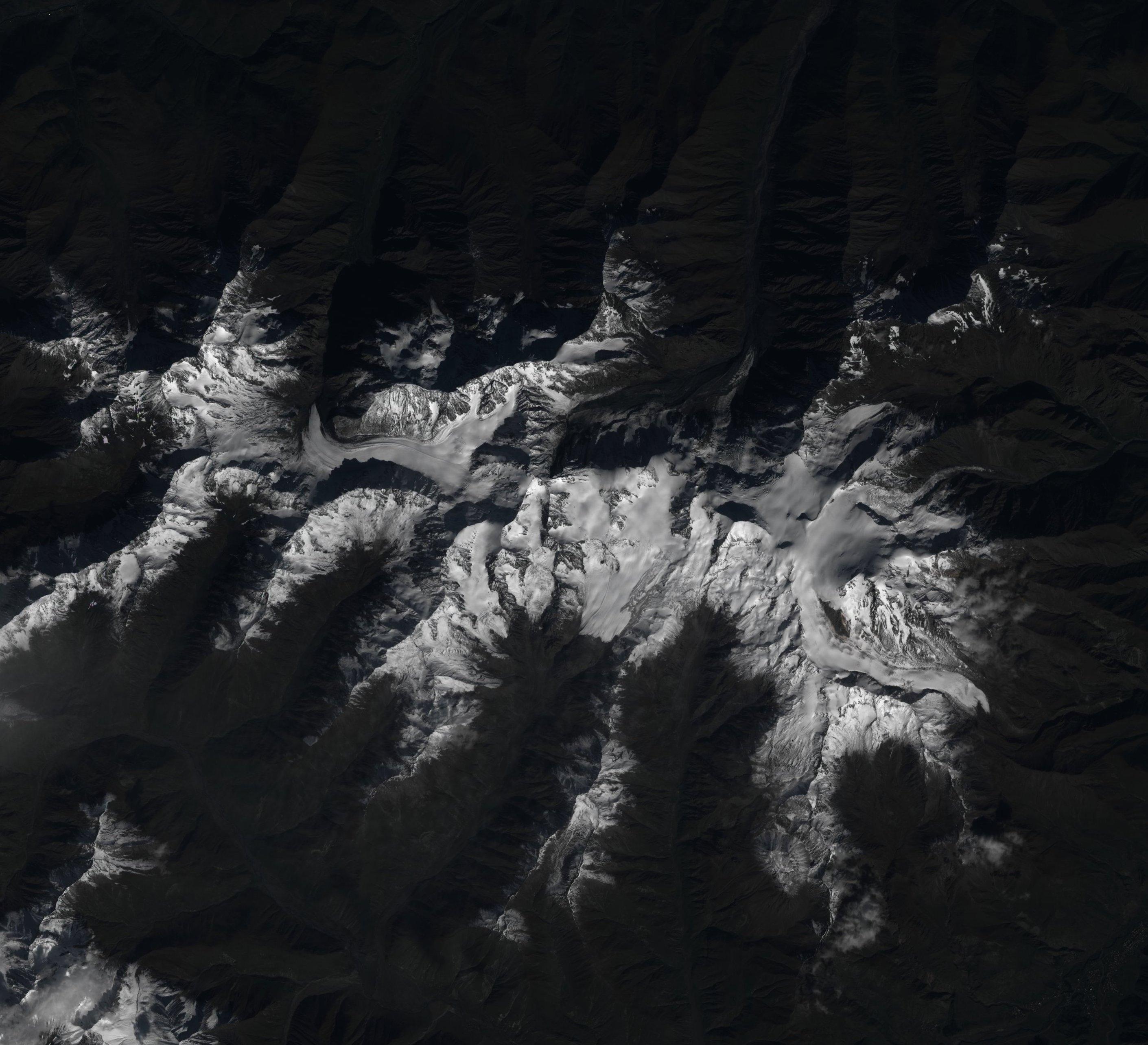 EO ALI Terrainmap - Satellite height map